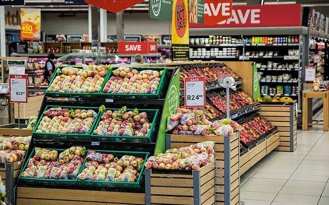 Etals de supermarché